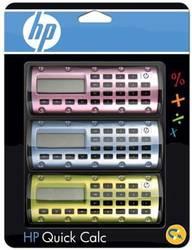 HP Quick Calc Taschenrechner 3er Pack magnetisch