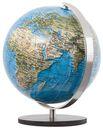 COLUMBUS Mini Globus DUORAMA, 12cm, unbel. Vegetation & bel. politisch