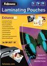 FELLOWES Laminierfolien selbstklebend A3 100er Pack, 80 mic