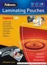 FELLOWES Laminierfolien 54 x 86 mm 100er Pack, 125 mic