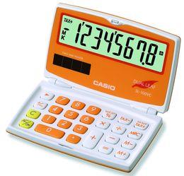 CASIO SL-100VC-OE Taschenrechner orange