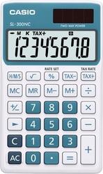 CASIO SL-300NC-BU Taschenrechner blau