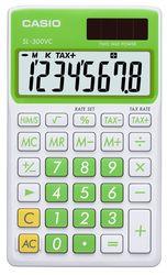 CASIO SL-300NC-GN Taschenrechner grün