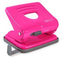 Rapesco 1360 825 (2-fach) Metalllocher - 25 Blatt - Hot Pink