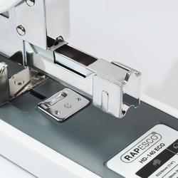 Rapesco 1396 ECO HD-140 Blockheftgerät - 140 Blatt - Soft Weiss